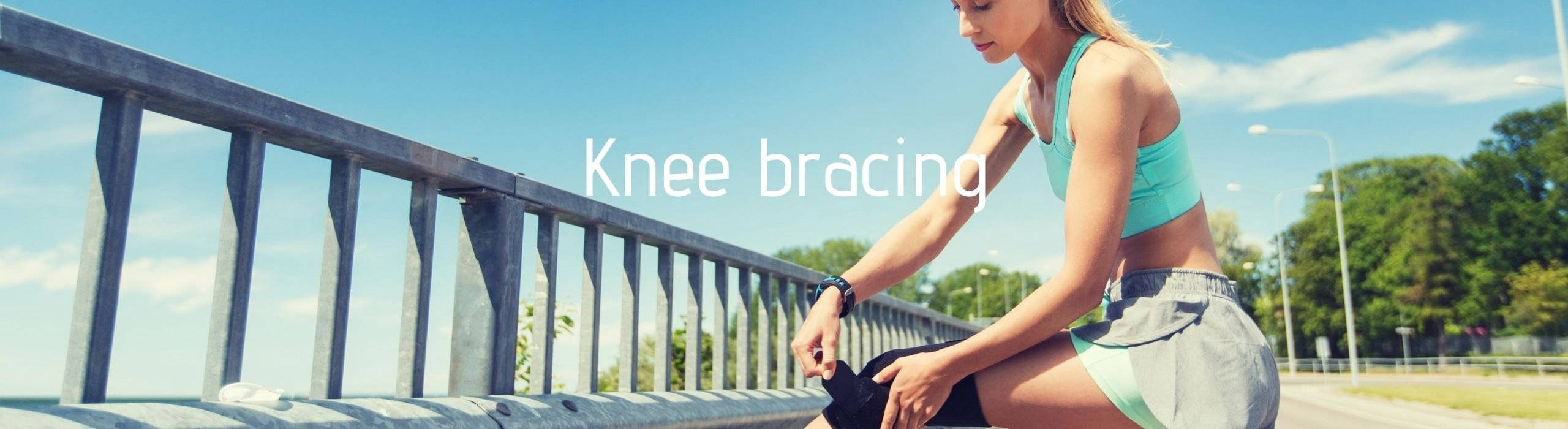 Knee support and knee bracing available at Enable orthotics, Chester